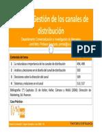 canales de distribución, diseño, conceptos