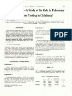 1.2 the Vitalograph - A Study of Its Role in Pulmonary Function Testing in Childhood. j. Wolfsdor