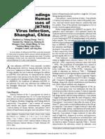 Clinical Findings h7n9