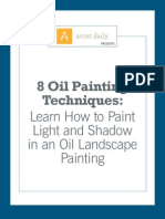 McHenry.8 Oil Painting Techniques - Light and Shadow in Oil Landscape