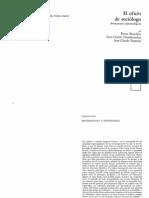 Bordieu, Pierre[1]- El Oficio Del Sociologo-Introd y Cap I