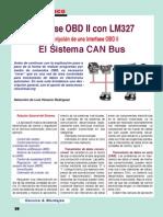 Interface OBD2 Con LM327