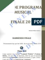FINALE 2013 Manual en Diapositivas