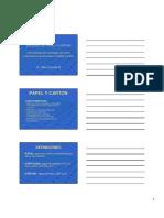 Papel y Carton Clases