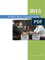 World Chess Championship 2013 Complete Games
