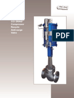 CCI DRAG® Compressor RecycleAnti-surge Valve