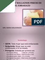 Signos y Sintomas en El Embarazo
