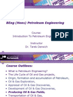 Introduction to Petroleum Engineering  Field Production