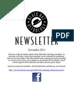 Black Hat Astrology Newsletter November 2014