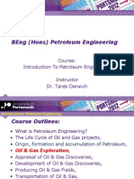 Introduction to Petroleum Engineering Final- Formation Evaluation - DST