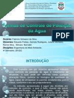 Formas de Controle da Poluição da Água- Final