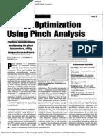 Energy Optimization Using Pinch Analysis