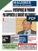 Le Maghreb Du 15-09-2011