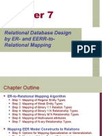 Relational Database Design by ER- And EERR-ToRelational Mapping