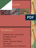 PARASITOLOGI.pendahuluan
