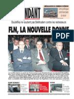 Le Jeune Independant Du 15-09-2011