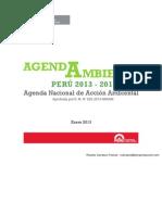 Perú - Agenda Nacional de Acción Ambiental 2013-2014
