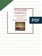 EVOLUCIÓN FONÉTICA ies delicias 2013-14
