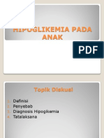 Hipoglikemia Pada Anak