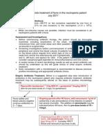 Neutropenic Sepsis Protocol