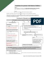 Hypoglycaemia Guidelines