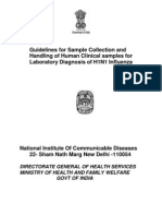 Guidelines for Sample Collection and Handling of Human Clinical