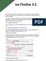 optimize firefox 3.5