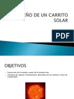 DISEÑO DE UN CARRITO SOLAR PROYECTO