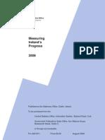 Measuring Irelands Progress 2008 - CENTRAL STATISTICS OFFICE