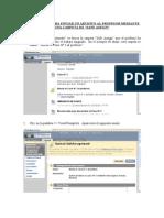 Enviar archivos al prof vía carpeta de SafeAssign