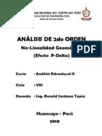 ANALISIS DE 2º ORDEN
