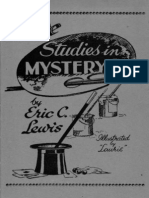 164583842 Eric C Lewis More Studies in Mystery PDF