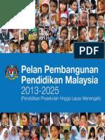 Plan Pembangunan Pendidikan Malaysia 2013 - 2025