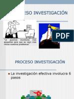 Proceso Investigacion de Mercado