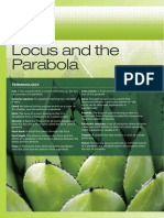 Locus and Parabola Parametric g