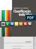 Manual da Nova Classificação Indicativa