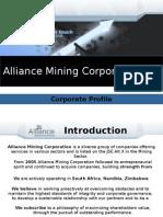 Alliance Mining Corporation Company Profile