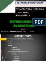 Bioquímica - Metabolismo de Nucleótidos
