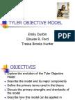 Tyler Objective Model Group Presentation