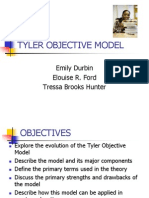Tyler Objective Model Group Presentation