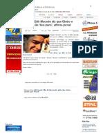 SiteBarra » Filho de Edir Macedo diz que Globo e Record são 'lixo puro', afirma jornal