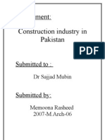 Construction Industry in Pakistan