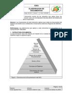 Instructivo Para La Elaboracion de Documentos
