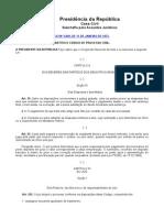 Código de Processo Civil  - Código Penal - Novo Código Civil (new)