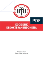Kode Etik Kedokteran Indonesia Tahun 2012