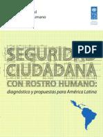 Informe SEGURIDAD CIUDADANA (PNUD 2013)