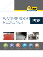 Dr Fixit Waterproofing Reckoner
