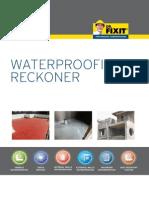 Dr Fixit Waterproofing Reckoner