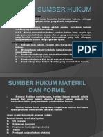 Sumber Sumber Hukum Indonesia