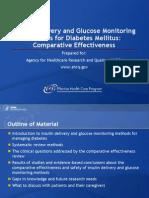 Insulin Delivery Glucose Monitoring